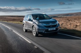 Honda CR-V Hybrid, 2019, front, action