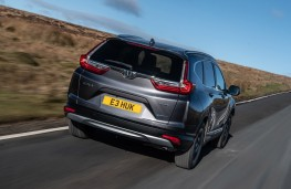 Honda CR-V Hybrid, 2019, rear, action