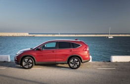 Honda CR-V, side, static