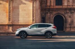 Honda CR-V, 2018, side
