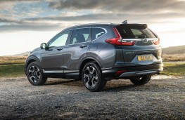 Honda CR-V Hybrid, 2019, rear, static