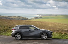 Mazda CX-30, 2019, side, static