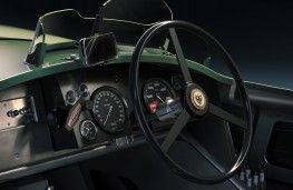 Jaguar C-Type Continuation series, 2021, dashboard