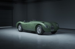 Jaguar C-Type Continuation series, 2021, front