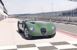 Jaguar C-Type Continuation series, 2021, nose