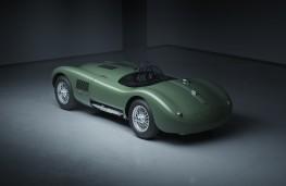 Jaguar C-Type Continuation series, 2021, rear