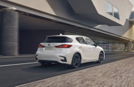 Lexus CT 200h, 2019, rear