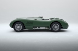 Jaguar C-Type Continuation series, 2021, side, static