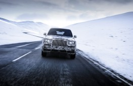 Rolls-Royce Cullinan, 2018, nose