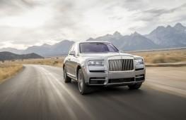Rolls-Royce Cullinan, front