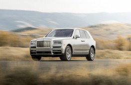 Rolls-Royce Cullinan, front, action