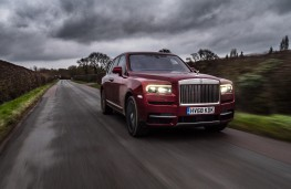 Rolls-Royce Cullinan, 2018, front, action