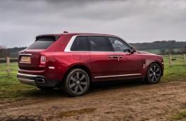Rolls-Royce Cullinan, 2018, side