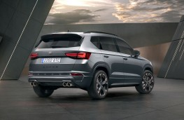 Cupra Ateca 2020 rear threequarters