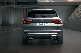 Cupra Ateca 2020 rear