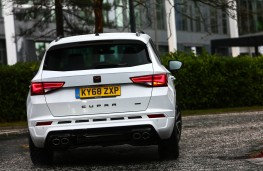 Cupra Ateca, rear