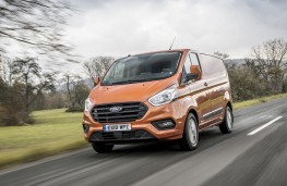 Ford Transit Custom, 2018, front