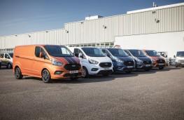Ford Transit Custom, 2018, line up