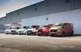 Ford Transit Custom, 2018, lineage