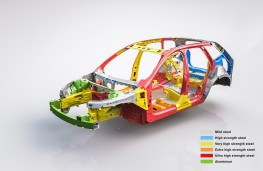 Volvo XC60, 2017, structural cutaway