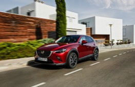 Mazda CX-3, 2018, front, action