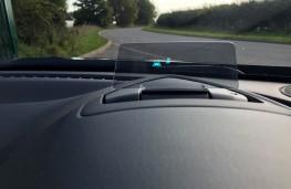 Mazda CX-3, head up display