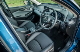 Mazda CX-3, 2018, interior