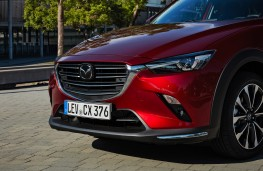 Mazda CX-3, 2018, front, detail
