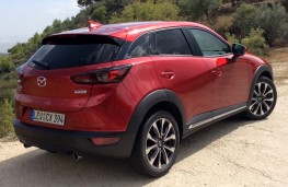 Mazda CX-3, 2018, rear, static