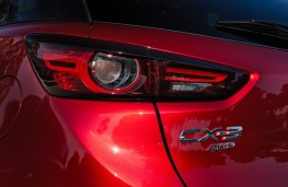 Mazda CX-3, 2018, rear, detail