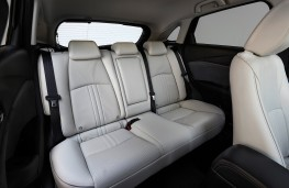 Mazda CX-3, 2018, rear seats