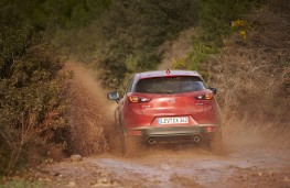 Mazda CX-3, AWD, Les Comes, 2016, splash, rear