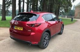 Mazda CX-5, rear
