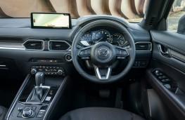 Mazda CX-5, 2021, interior automatic