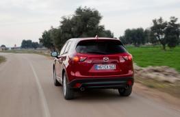 Mazda CX-5, 2017, rear