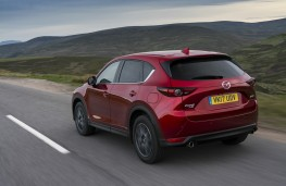 Mazda CX-5, 2017, rear, action