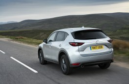 Mazda CX-5, SE-L Nav, 2017, rear, action