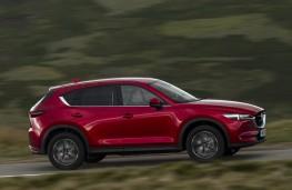 Mazda CX-5, 2017, side