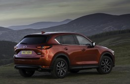 Mazda CX-5, 2017, side, static