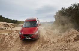 Mazda CX-5, AWD, Les Comes, 2016, slope