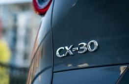 Mazda CX-30, 2019, badge