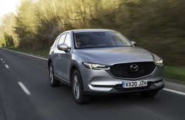 Mazda CX-5, 2020, front, action