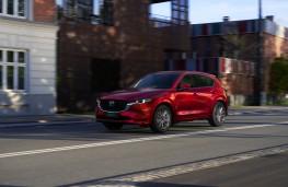 Mazda CX-5, 2022, front