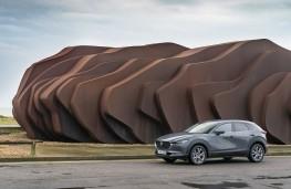 Mazda CX-30, 2019, front, static