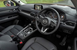 Mazda CX-5, 2018, interior, automatic