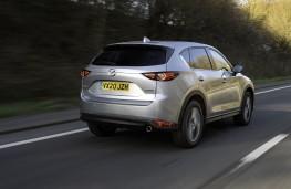 Mazda CX-5, 2020, rear, action