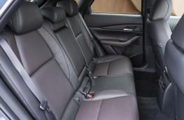 Mazda CX-30, 2019, rear seats