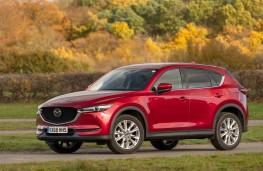 Mazda CX-5, 2018, side