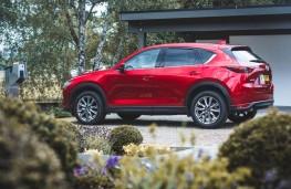 Mazda CX-5, 2019, side