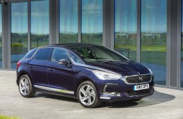 DS 5, blue, front